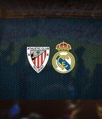 Athletic Bilbao-Real Madrid maçı saat kaçta? Hangi kanalda?
