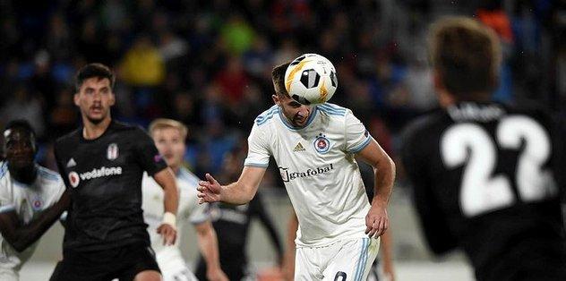 MAÇ SONUCU   Slovan Bratislava 4-2 Beşiktaş MAÇ ÖZETİ