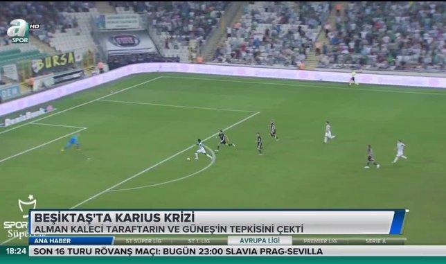 Beşiktaş'ta Karius krizi