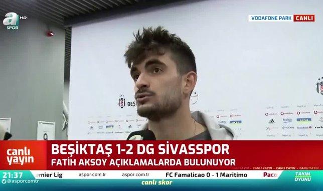 Fatih Aksoy: Beşiktaş'a dönersem...