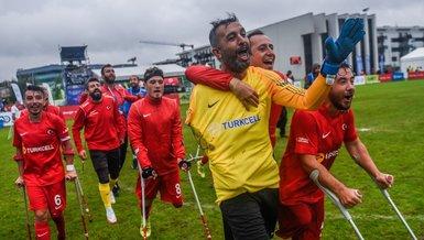 Türkiye - Rusya: 5-2   MAÇ SONUCU - ÖZET   Ampute Milli Futbol Takımı'mız finalde!