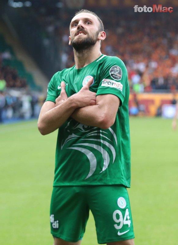 Çaykur Rizesporlu Vedat Muriç'ten Fenerbahçe itirafı