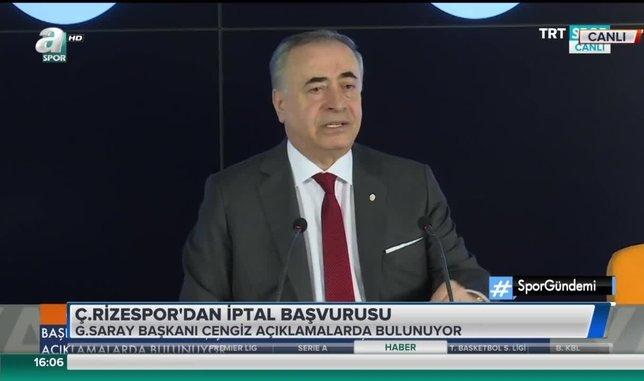 Mustafa Cengiz: Bize çok büyük algı operasyonu yapılıyor