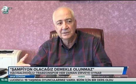 """Hacısalihoğlu: """"Şampiyon olacağız demekle olunmaz"""""""