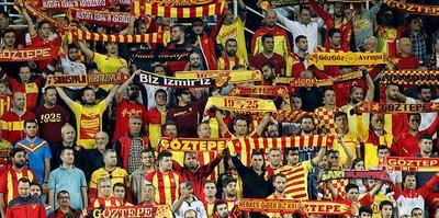 Göztepe'yi taraftarı yalnız bırakmıyor