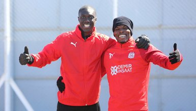 Sivasspor Trabzonspor maçı hazırlıklarını sürdürdü!