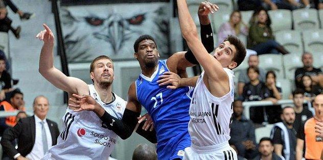 Beşiktaş potada Patras'a kaybetti