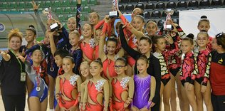 Denizli'de cimnastik heyecanı yaşandı