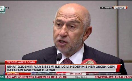 """""""Türkiye'yi Avrupa'da ilk 5'e dünyada ilk 10'a sokmak istiyoruz"""""""