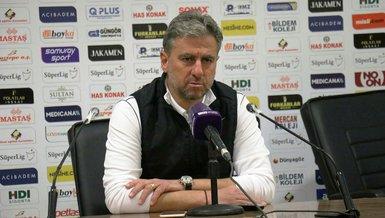 Yeni Malatyaspor Teknik Direktörü Hamza Hamzaoğlu: Artık ligde ilk 8'i hedefleyebiliriz