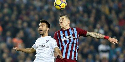 Trabzon'da 2 oyuncu cezalı duruma düştü