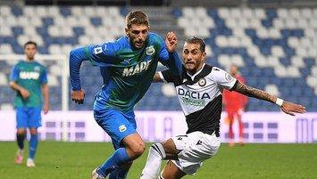 Sassuolo ile Udinese yenişemedi