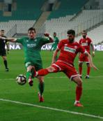 Bursaspor ile Boluspor yenişemedi!