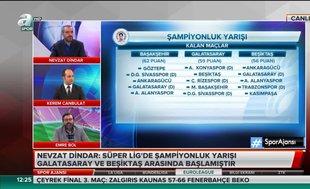 """Emre Bol: """"Başakşehir Türk Telekom Stadı'na 3 puan önde gelirse Galatasaray şampiyon olur"""""""
