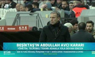 Beşiktaş'tan flaş Abdullah Avcı kararı
