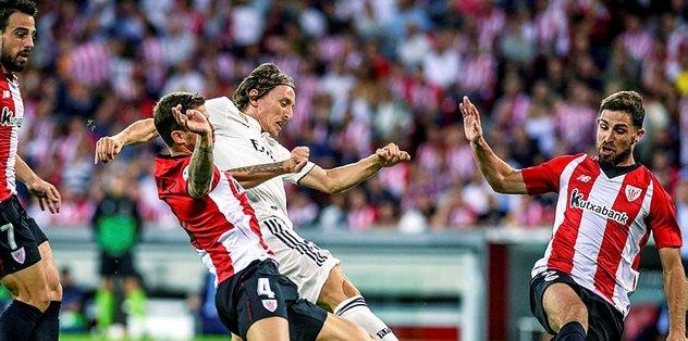 Real Madrid'den ilk puan kaybı