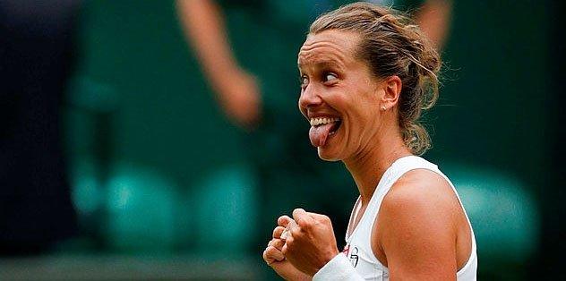 Barbora Strycova Serena Williams'ın rakibi oldu
