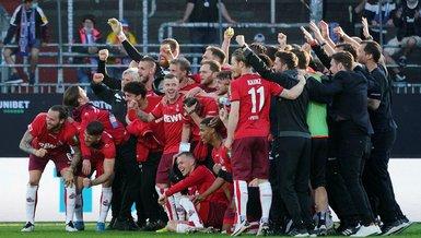 Almanya'da Köln Bundesliga'da kaldı