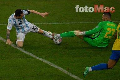 Son dakika spor haberi: İşte Arjantin-Brezilya Copa America finalinden dikkat çeken kareler!