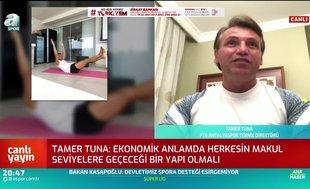 Tamer Tuna: Ne bedel ödenmesi gerekiyorsa sonuna kadar ödemeye hazırım