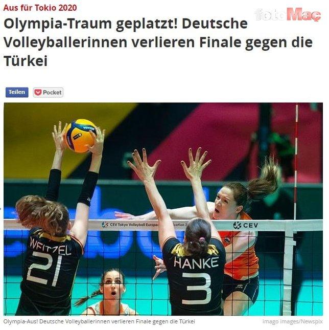 A Milli Kadın Voleybol Takımı'nın Olimpiyat vizesi dünya basınında yankı uyandırdı!