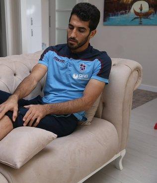 Adriano'nun faulünde Amiri'nin bacağı iki yerden delinmiş!
