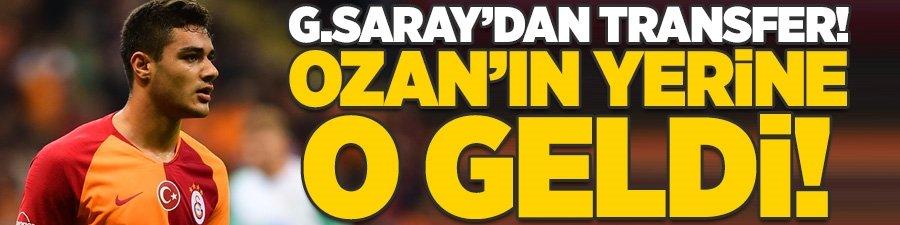 Galatasaray'dan transfer! Ozan Kabak'ın yerine o geldi...