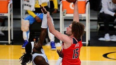 NBA'de Washington Wizards seriyi sürdürdü!