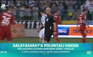 Galatasaray'a Polonyalı hakem