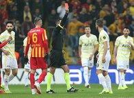 Kayserispor - Fenerbahçe maçından kareler!