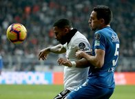 Beşiktaş - BB Erzurumspor maçından kareler