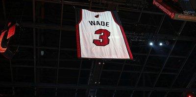 Miami Heat'te Dwyane Wade'in forması emekliye ayrıldı