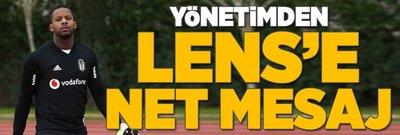 Beşiktaş'tan Lens'e net mesaj