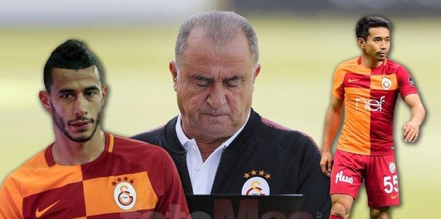 Galatasaray'da Belhanda ve Nagatomo dönemi bitiyor! Yerlerine gelecek 2 isim ortaya çıktı | Son dakika transfer haberleri