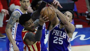 NBA'de 76ers, Hawks karşısında seriyi eşitledi