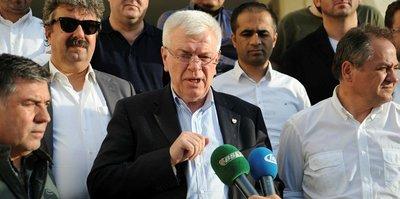 Bursaspor Başkanı Ay'dan suç duyurusu