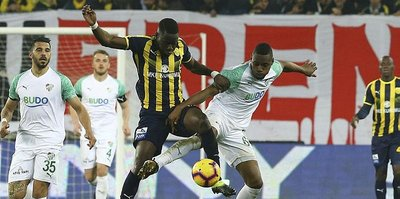 MKE Ankaragücü ile Bursaspor yenişemedi