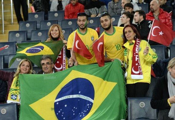 Türkiye 0-4 Brezilya