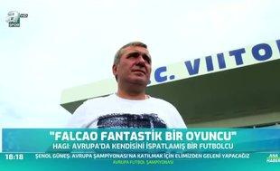 Hagi'den Falcao sözleri!