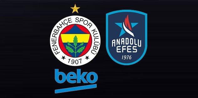 Fenerbahçe ve A. Efes'ten TBF'nin kararına tam destek!
