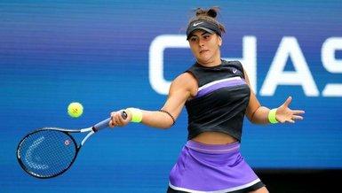 Son dakika spor haberleri: Kanadalı tenisçi Bianca Andreescu corona virüsüne yakalandığını açıkladı