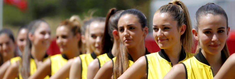 İspanya Grand Prix'sine renk kattılar