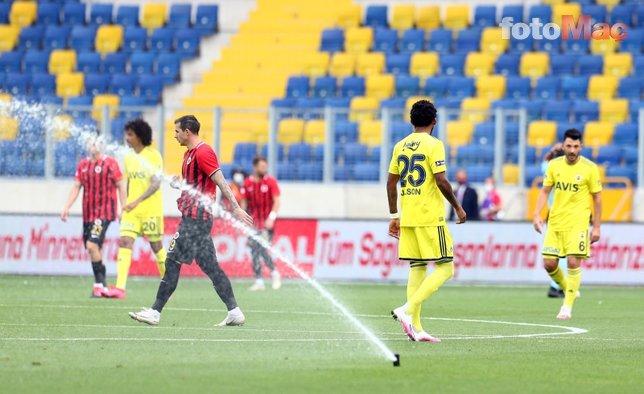 İşte Gençlerbirliği - Fenerbahçe maçından öne çıkan kareler