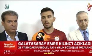 Emre Kılınç: Galatasaray'da olmak benim için büyük gurur