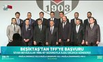 Beşiktaş'tan TFF'ye başvuru