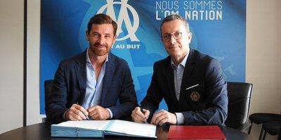 Marsilya'nın yeni teknik direktörü Andre Villas-Boas oldu