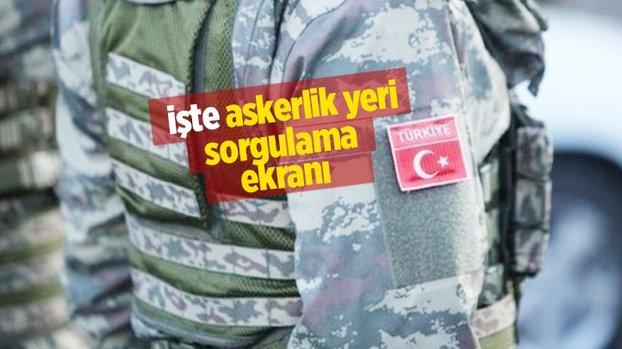 Askerlik yerleri açıklandı mı? Milli Savunma Bakanlığı resmen duyurdu! e-devlet askerlik yeri sorgulama ekranı