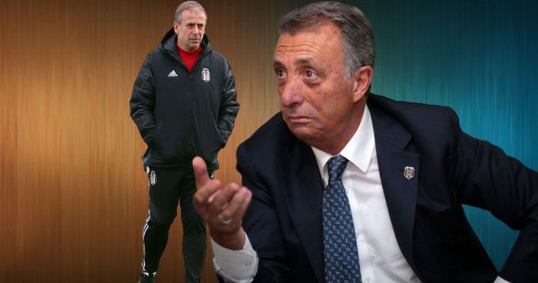 Beşiktaş karıştı! Abdullah Avcı ile Ahmet Nur Çebi arasında gerginlik