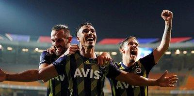 MAÇ SONUCU Başakşehir 1-2 Fenerbahçe MAÇ ÖZETİ
