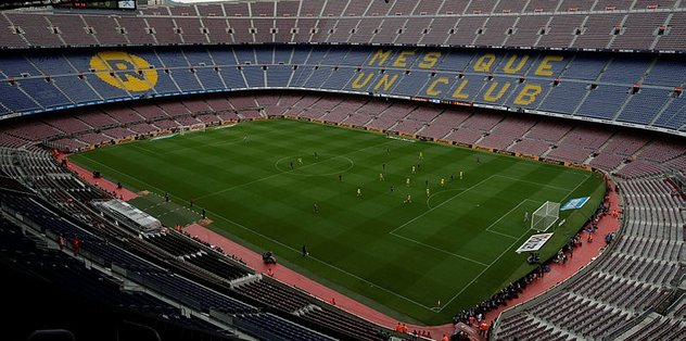 Camp Nou satılık!